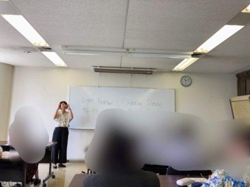 青谷優子朗読セミナー2