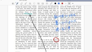PDFに手書き書き込み